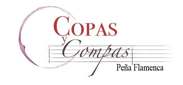 Logo Pena flamenca Copas y Compas, association de flamenco