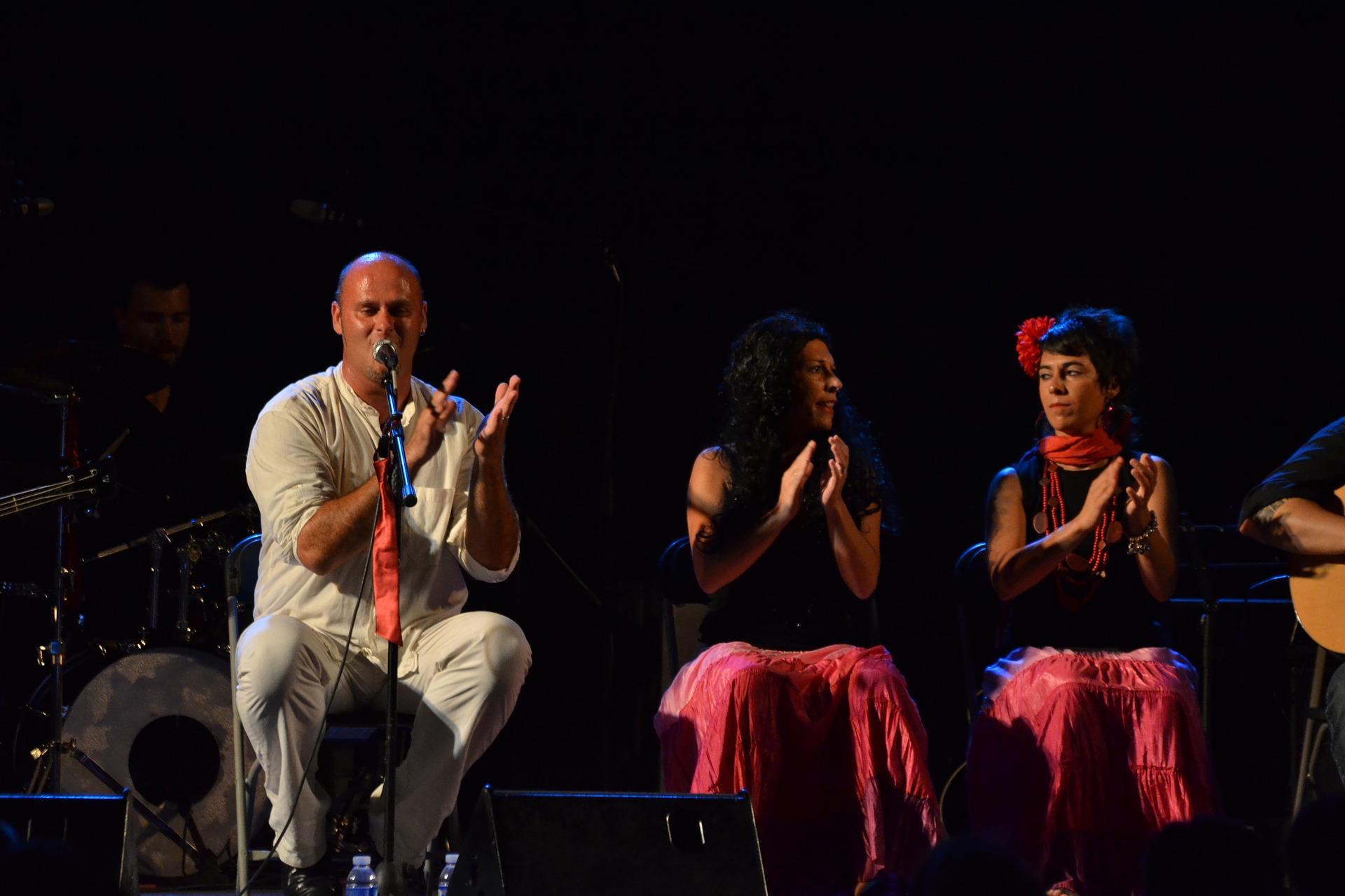 stages et spectacles flamenco Bordeaux - Avril mai