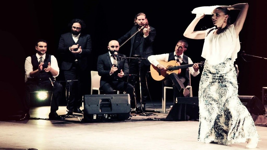 Nicolas Saez Sextet spectacle flamenco Calle Las Minas Bordeaux