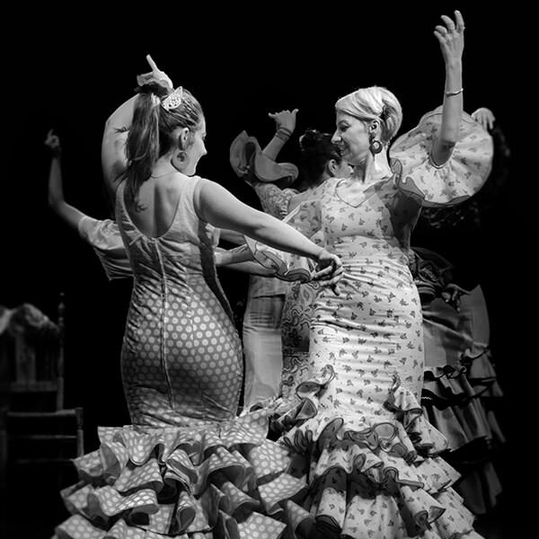 Couple danseuse de Sévillanes à Bordeaux, Rincon Andaluz
