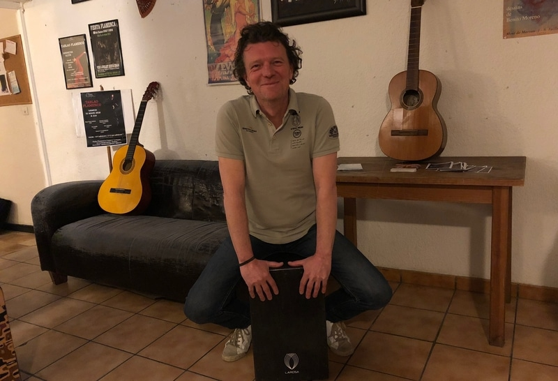 Cours de percussion, cajon à Bordeaux