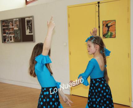 cours flamenco enfants bordeaux kuky santiago