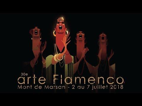 Affiche Arte Flamenco - Festival Mont De Marsan