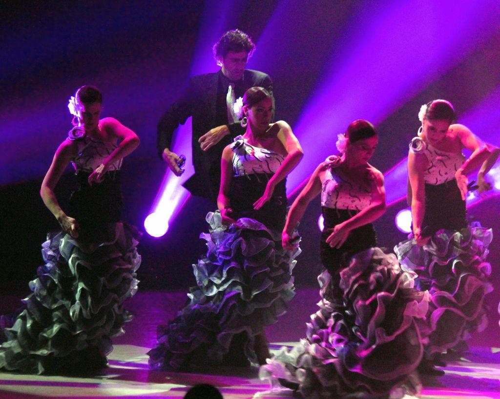 spectacle et galas fin d'année flamenco bordeaux