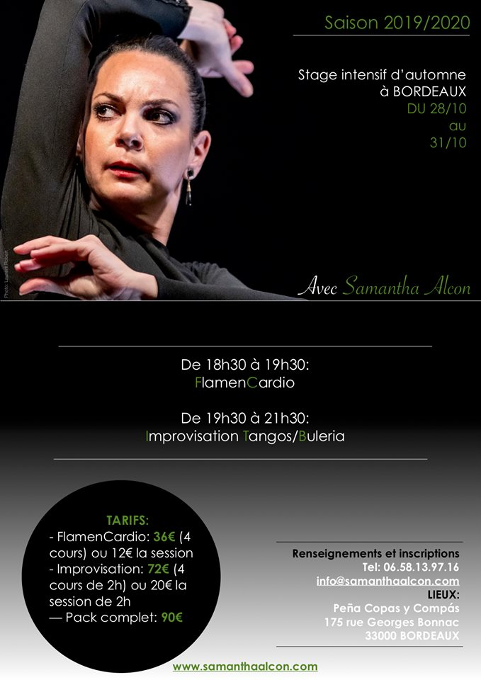 stage flamenco bordeaux samantha alcon