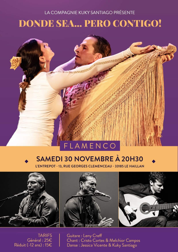 spectacle flamenco bordeaux kuky santiago