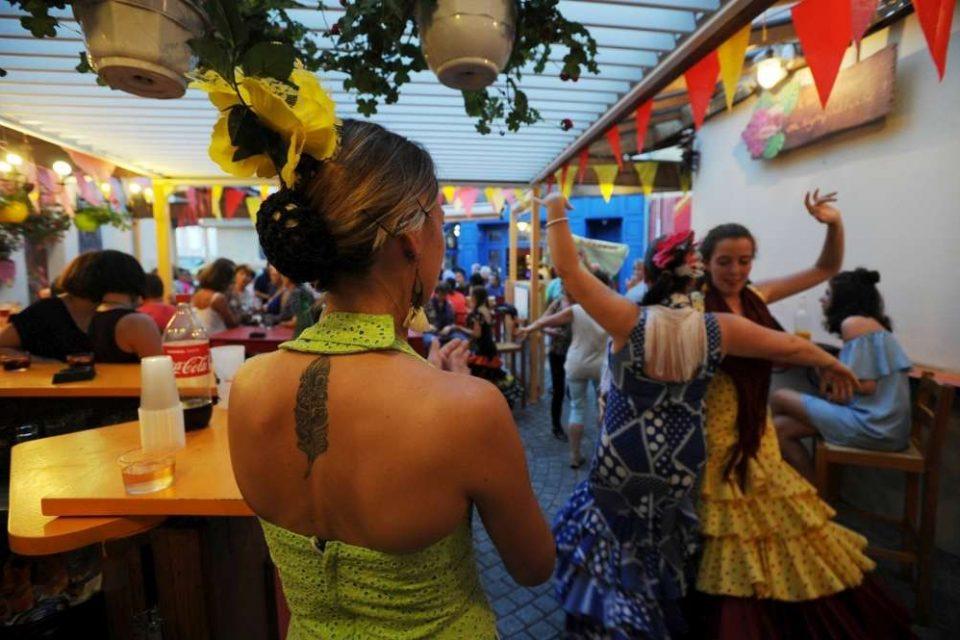 Arte Flamenco 2017-danseuses sévillanes