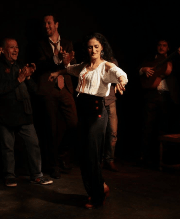 Tablao flamenco bordeaux copas y compas